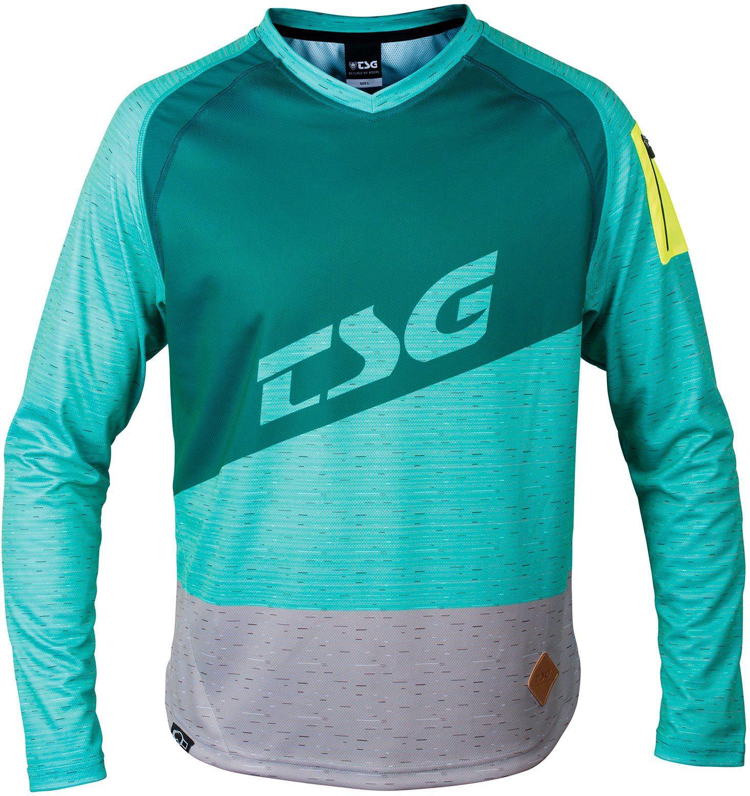 TSG Radtrikot »Breeze LS Jersey Men«