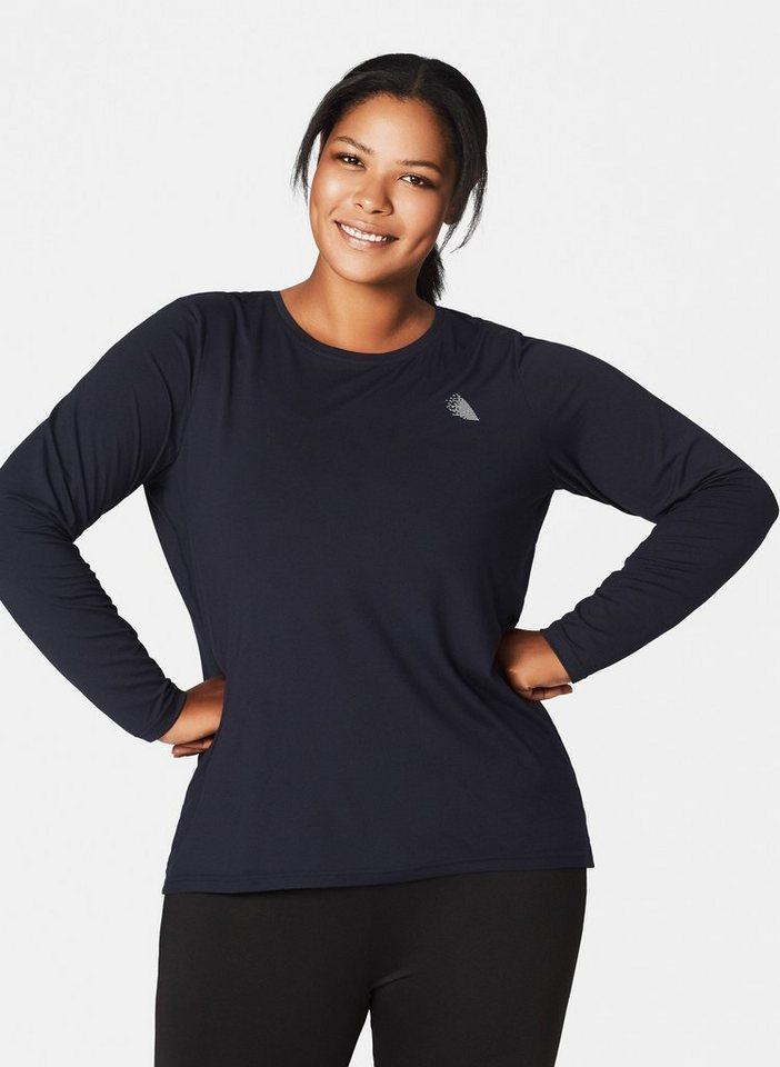 promo code 56f26 7f460 Zizzi Funktionsshirt Damen Große Größen Sportshirt Langarm Fitnesshirt  Sportbekleidung online kaufen | OTTO