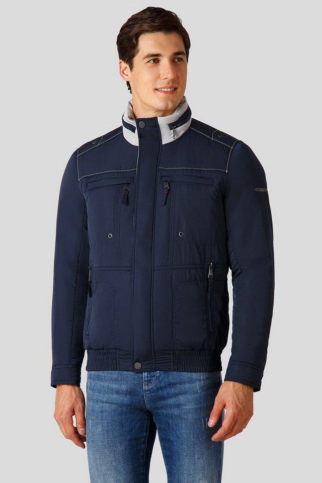Herren Finn Flare Übergangsjacke in sportlichem Design blau | 06438157394354