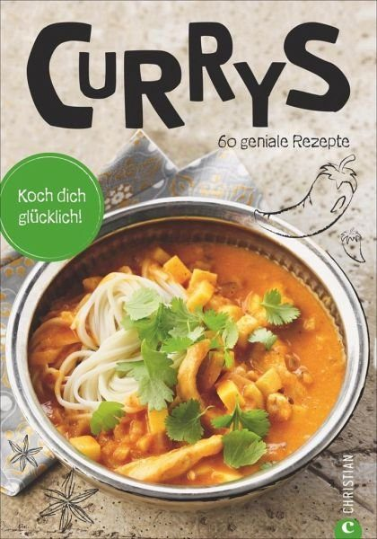 Broschiertes Buch »Koch dich glücklich: Currys«