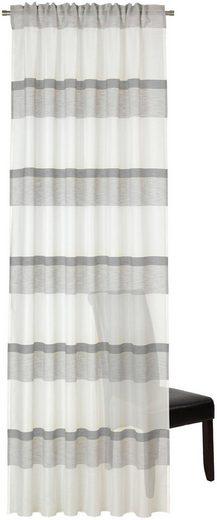 Vorhang »Asam«, DEKO TRENDS, verdeckte Schlaufen (1 Stück), Schal mit verdeckten Schlaufen