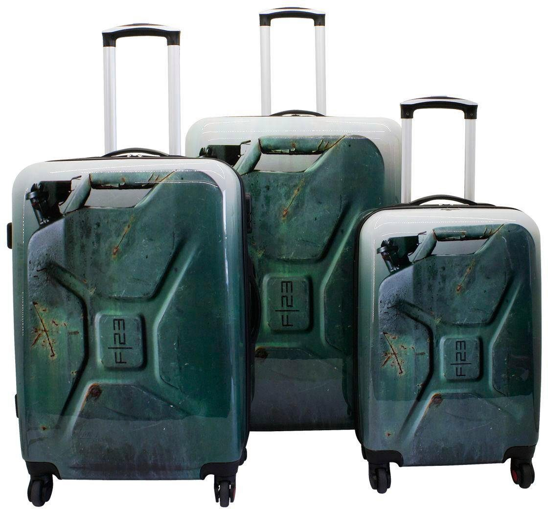 F23™ Hartschalentrolley-Set, 3-tlg., »Jerrycan«