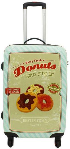 F23™ Hartschalen-Trolley »Donut, 60 cm«, 4 Rollen, mit 4 Rollen