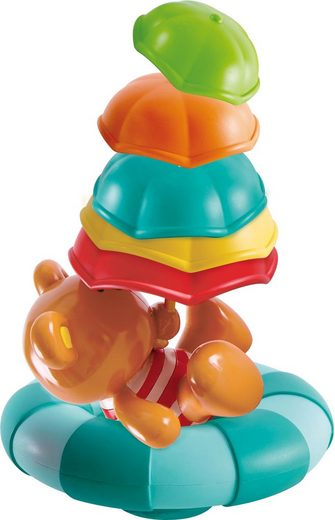 Hape »Teddy unterm Schirm« Badespielzeug (5-tlg), ideal für die Badewanne