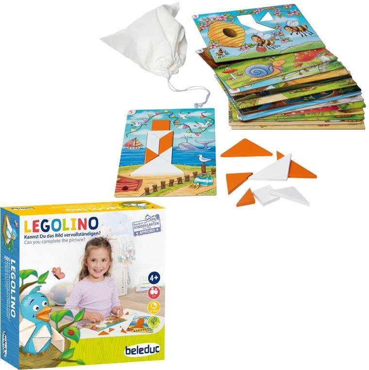Beleduc Kinderspiel, »LEGOLINO«