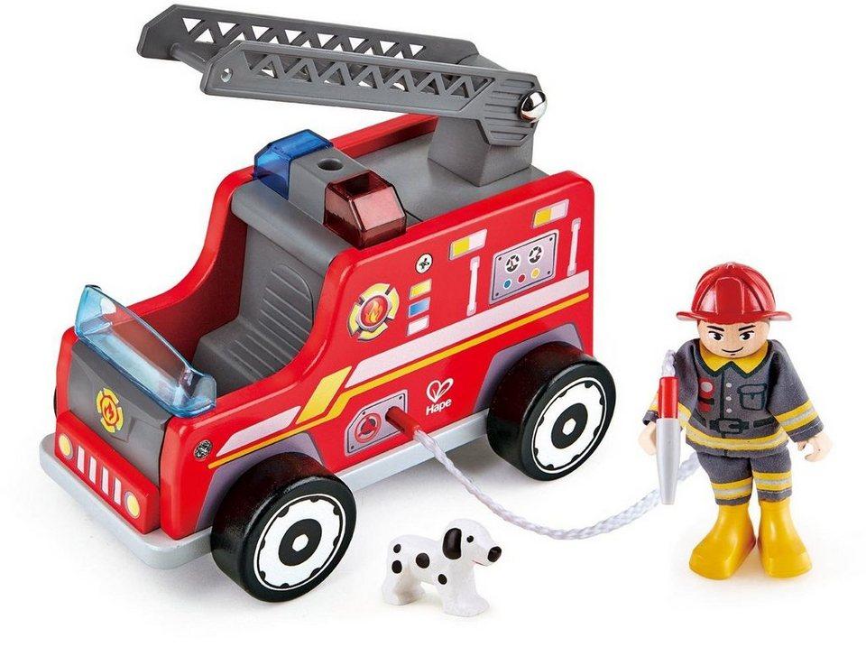 Hape Spielset aus Holz,  Feuerwehr-Trupp  kaufen