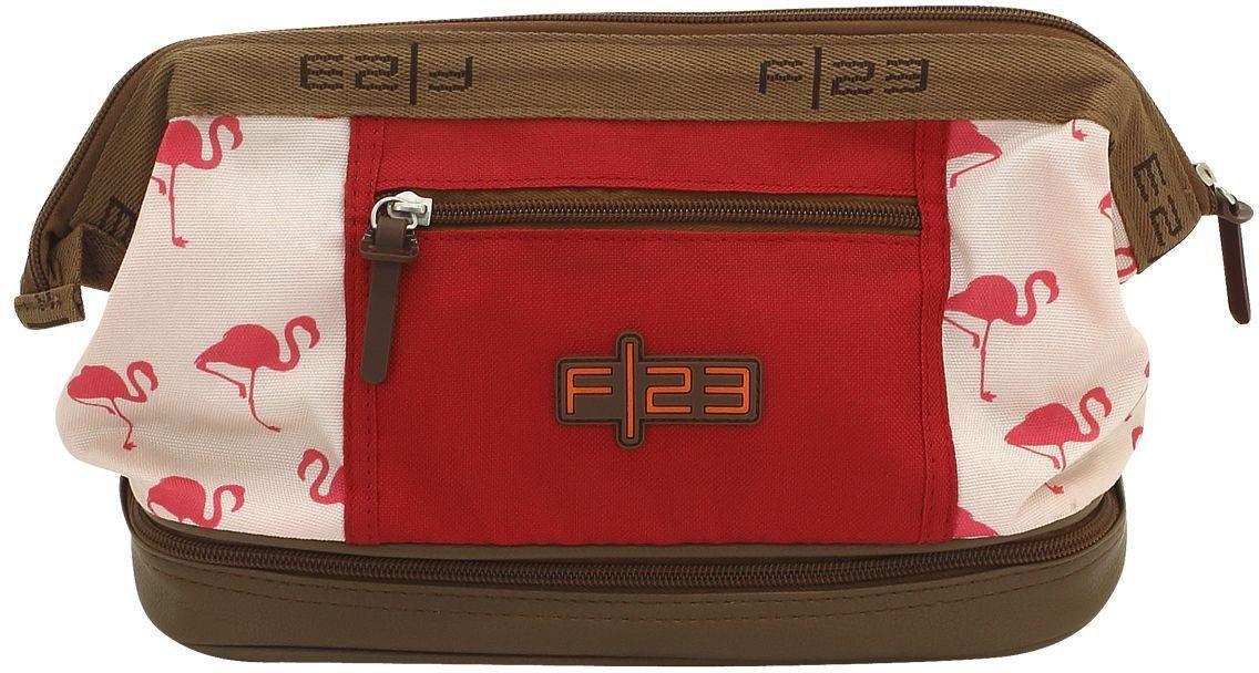 F23™ Kulturtasche mit Nassfach, »Flamingo«