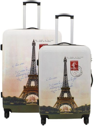 F23™ Hartschalentrolley-Set, 2-tlg., »Paris«