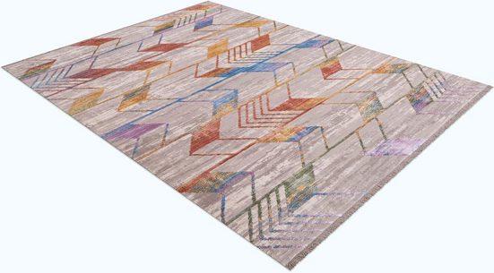 Teppich »Antik 920«, Festival, rechteckig, Höhe 7 mm, Besonders weich durch Microfaser