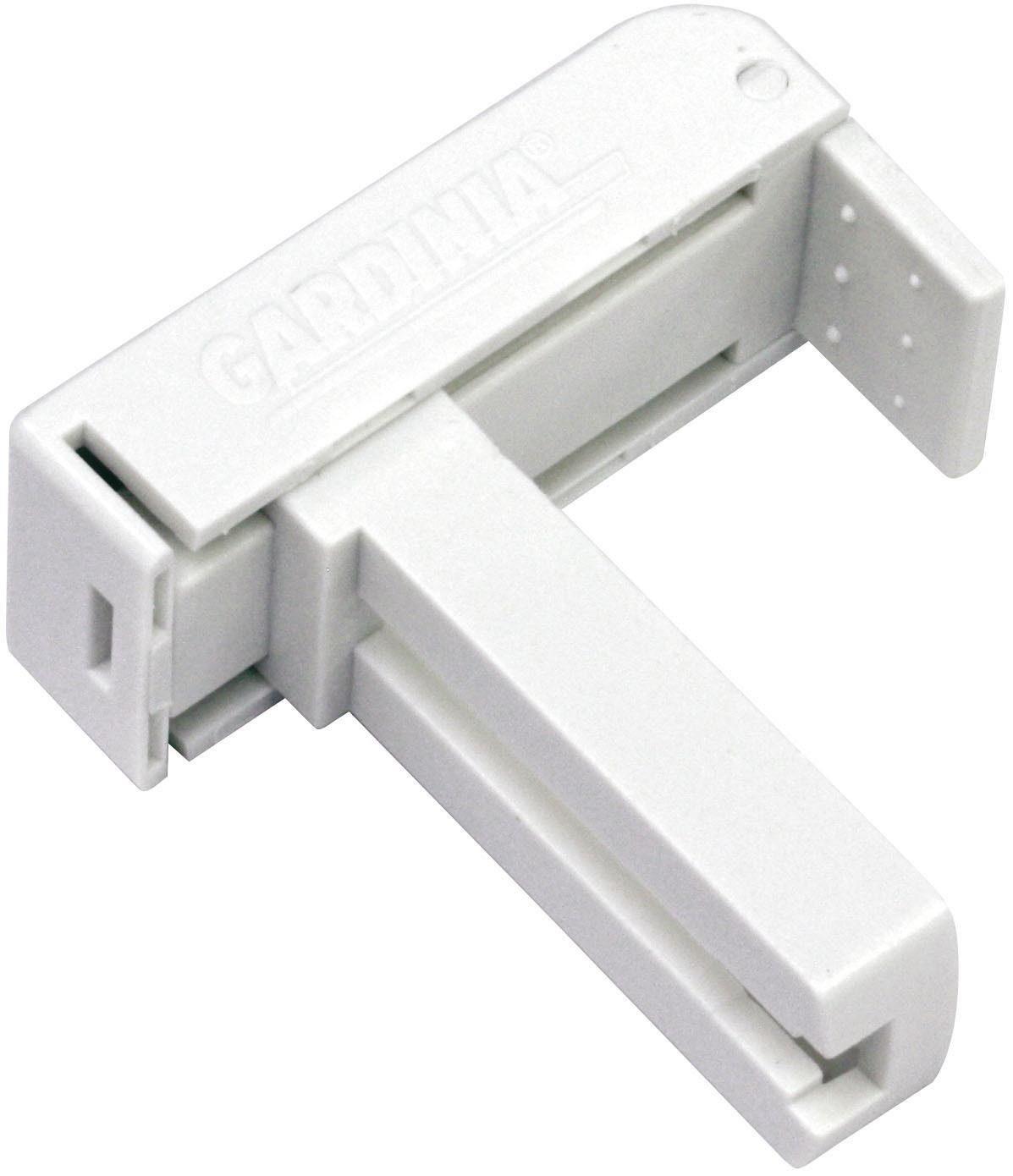 Klemmträger, Gardinia, für Aluminium-Jalousie 25 mm (2 Stück)