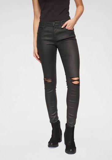 Only Skinny-fit-Jeans »CARMEN«, Mit starken Destroyed ...
