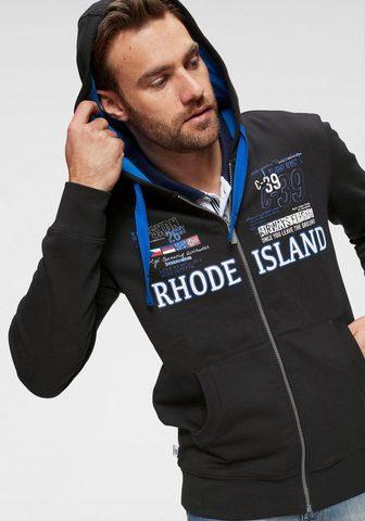 RHODE ISLAND Megztinis su gobtuvu