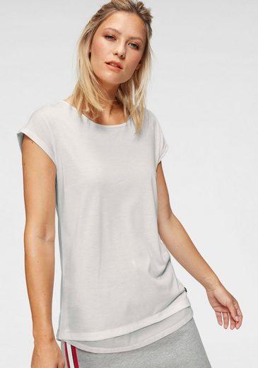 Ocean Sportswear T-Shirt mit Ringerrücken aus Mesh