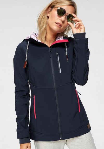 Ocean Sportswear Softshelljacke »Funktionen: Atmungsaktiv, wind- und wasserabweisend« Wasser- und windabweisend