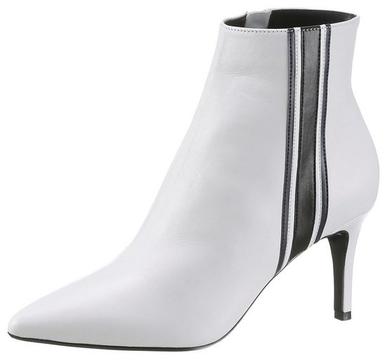 Dune »opaque London In Spitzer Side Boot« Stiletto Heel Form Stripe Stiefelette wRRqx5dr