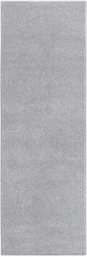 Läufer »Jerez«, Andiamo, rechteckig, Höhe 8 mm, Teppich-Läufer, gewebt, Uni-Farben