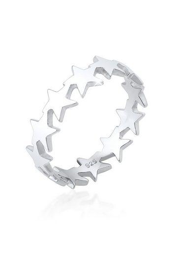 Elli Fingerring »Sterne Star Astro 925 Silber«