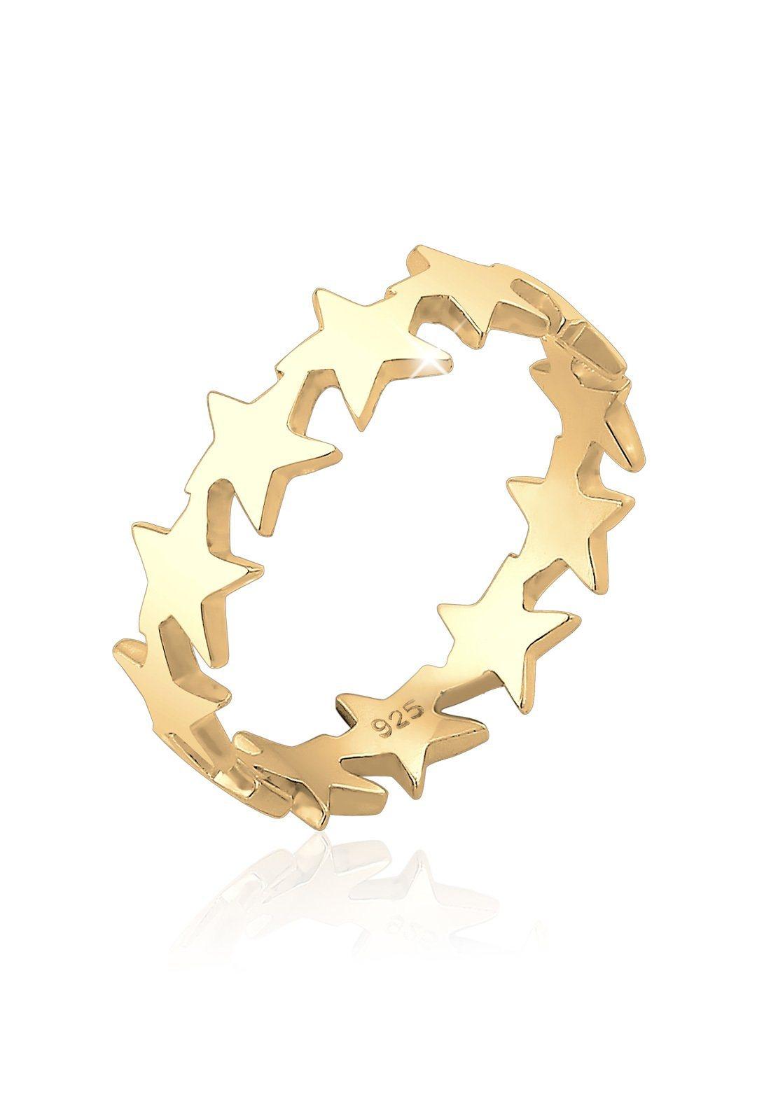 Elli Fingerring »Sterne Astro Trend Blogger Universum 925 Silber« | Schmuck > Ringe > Fingerringe | Silber | Elli