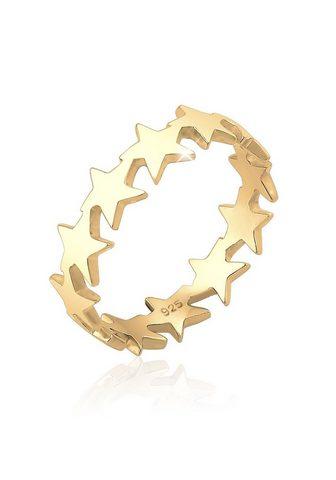 ELLI Žiedas »Sterne Star Astro 925 Silber«