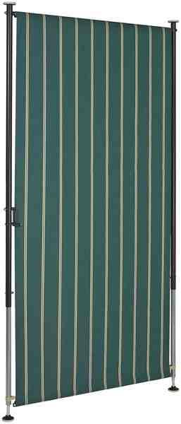 Angerer Freizeitmöbel Balkonsichtschutz »Polyacryl, grün/weiß« in 2 Breiten