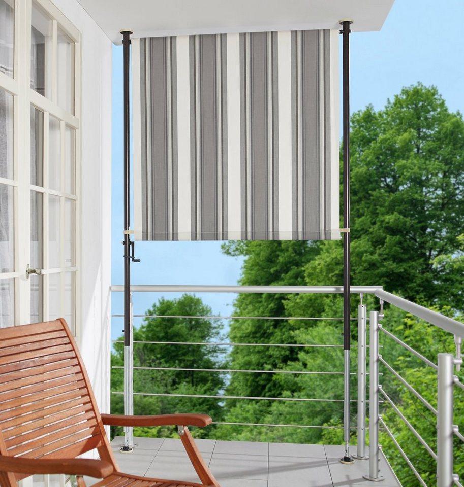 angerer freizeitm bel balkonsichtschutz polyacryl anthrazit in 2 breiten online kaufen otto. Black Bedroom Furniture Sets. Home Design Ideas