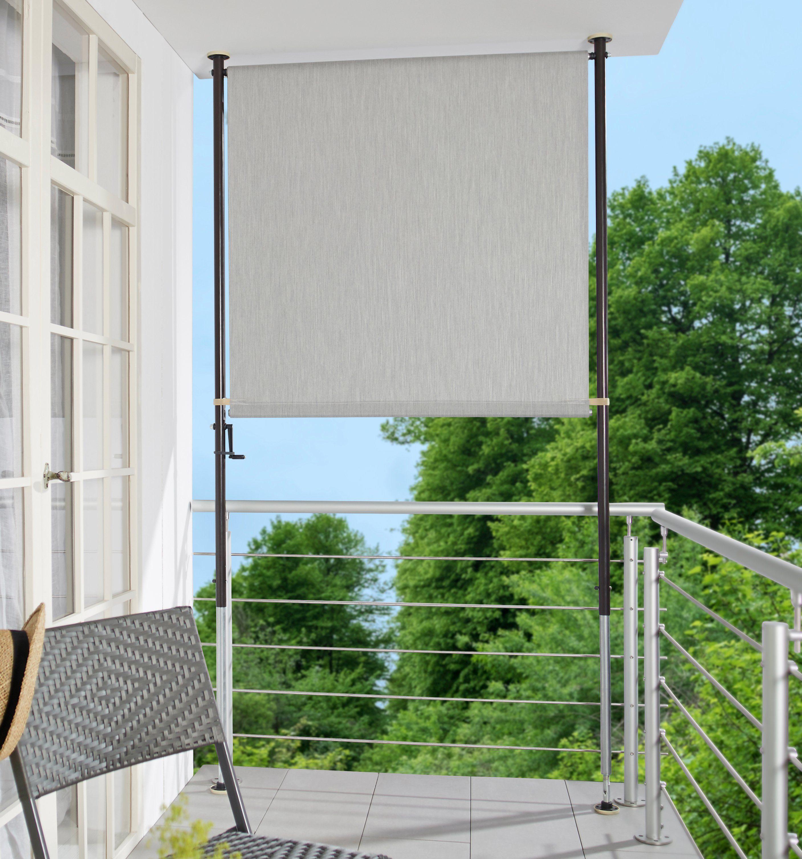 Angerer Freizeitmöbel Balkonsichtschutz, B: 120 cm, granitgrau