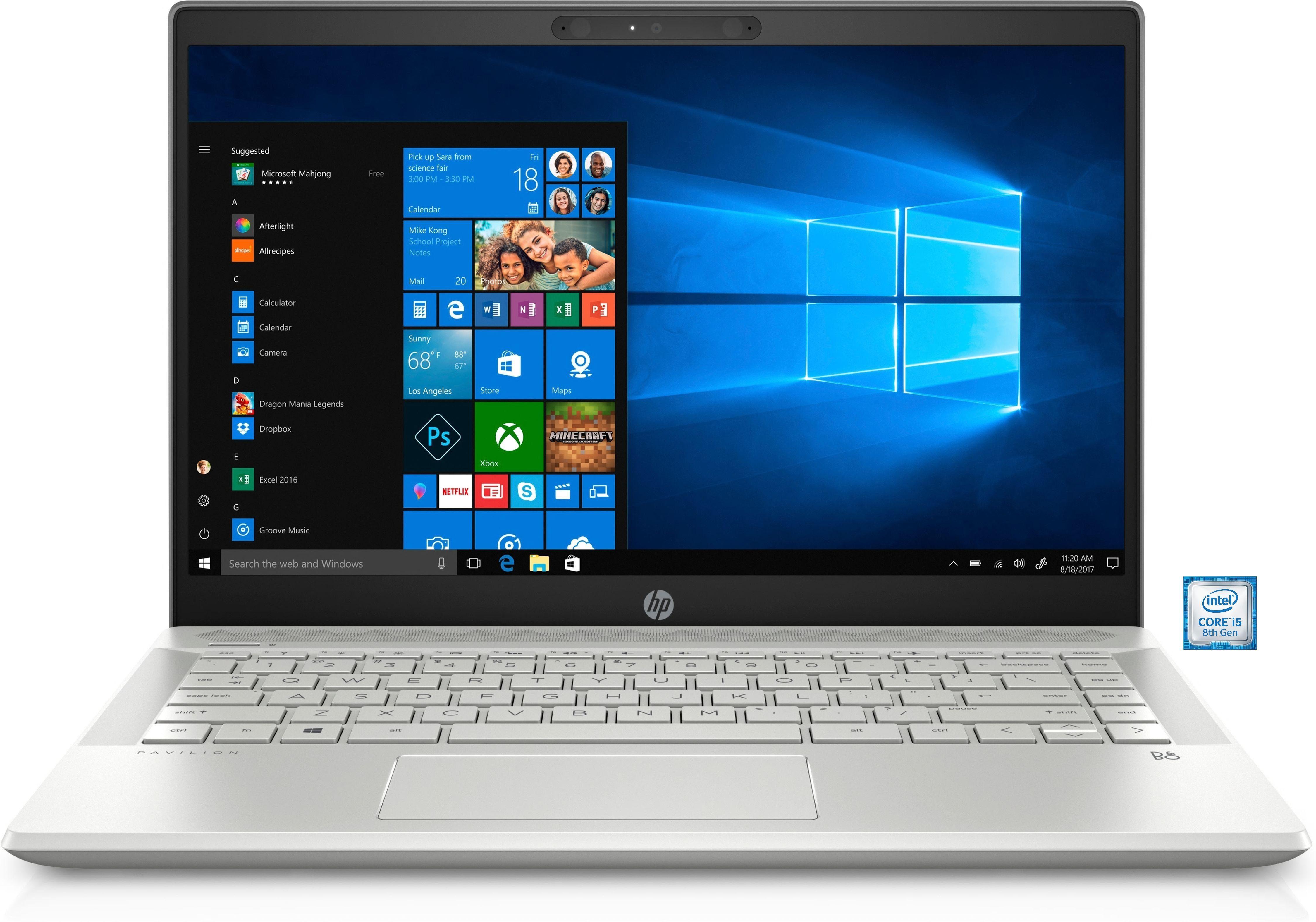 "HP Pavilion 14-ce0101ng Notebook »35,6 cm (14"") Intel Core i5, 256 GB SSD, 8 GB«"