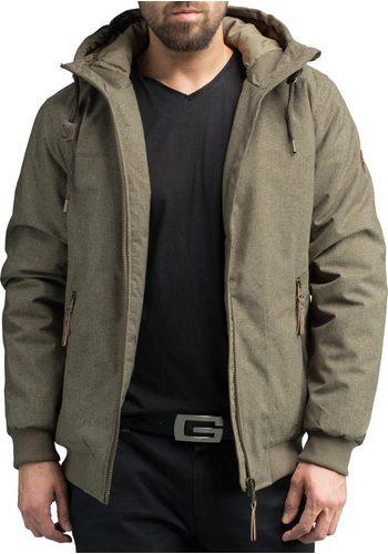 Herren Ragwear Winterjacke Stewie stylische Herren Outdoorjacke mit großer Kapuze braun | 04251490185722