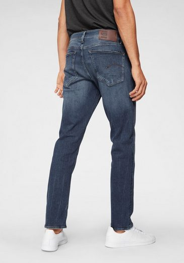 Straight« G star jeans Dunkelblau Straight »3301 Raw 4R3Lq5jcA