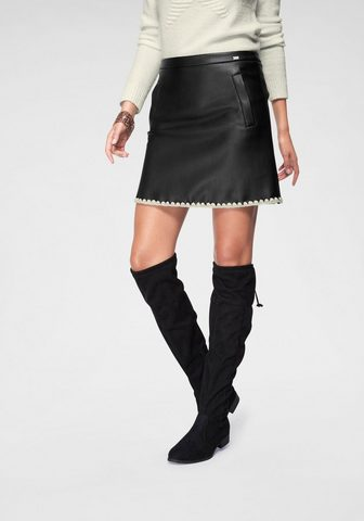 LAURA SCOTT Dirbtinės odos sijonas