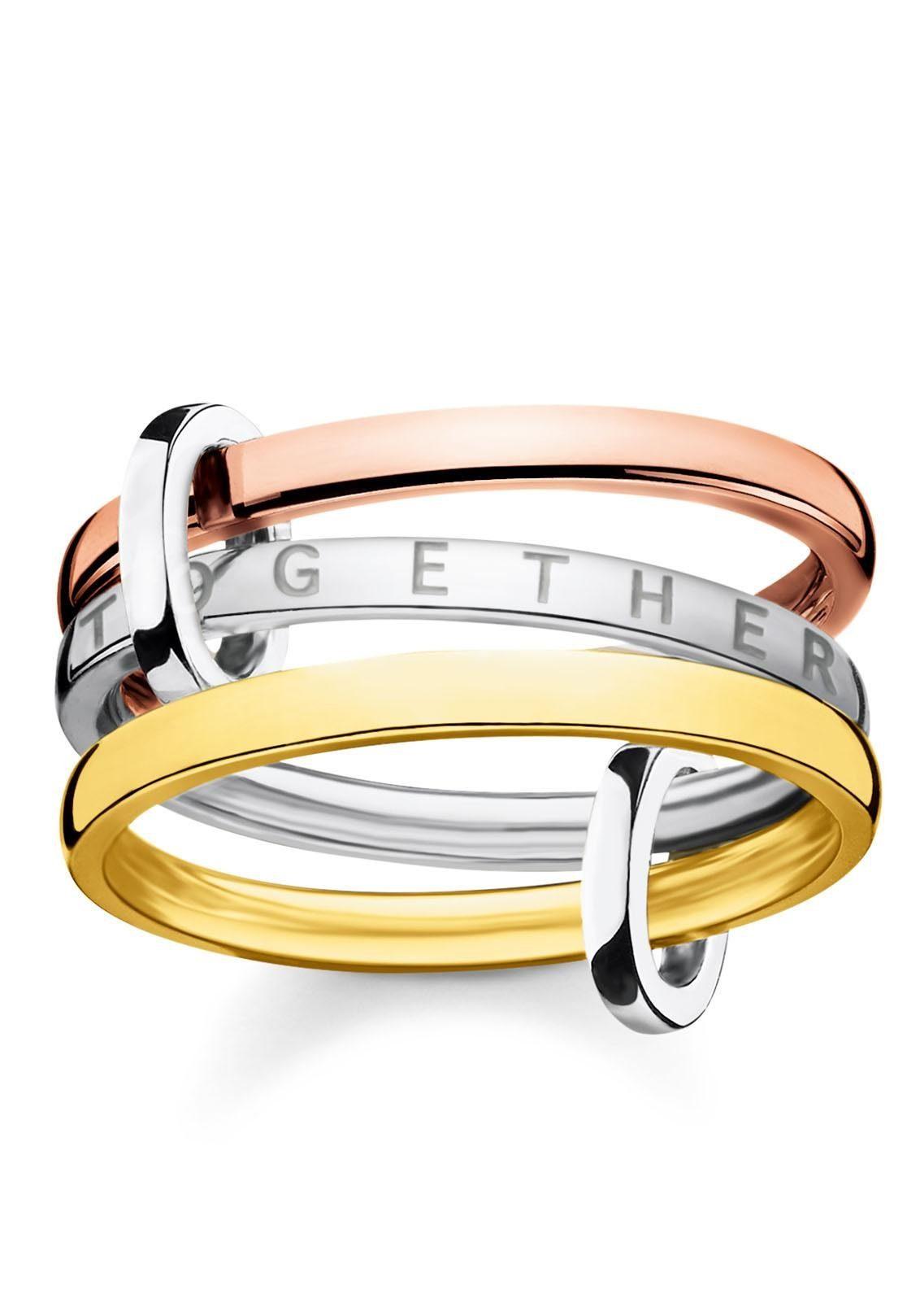 THOMAS SABO Fingerring »Together Forever, D_TR0035-485-7« Online exklusiv bei uns*