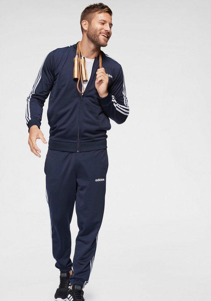 damen Genieße den reduzierten Preis Gratisversand adidas Trainingsanzug »MEN TRACK SUIT B2BAS 3 STRIPES C« (Set, 2 tlg)  online kaufen   OTTO
