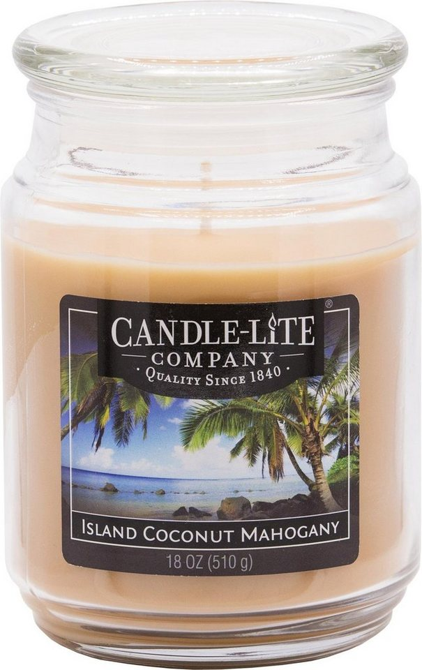 Candle-lite Duftkerze, 510g, »Everyday - Island Coconut Mahogany ...
