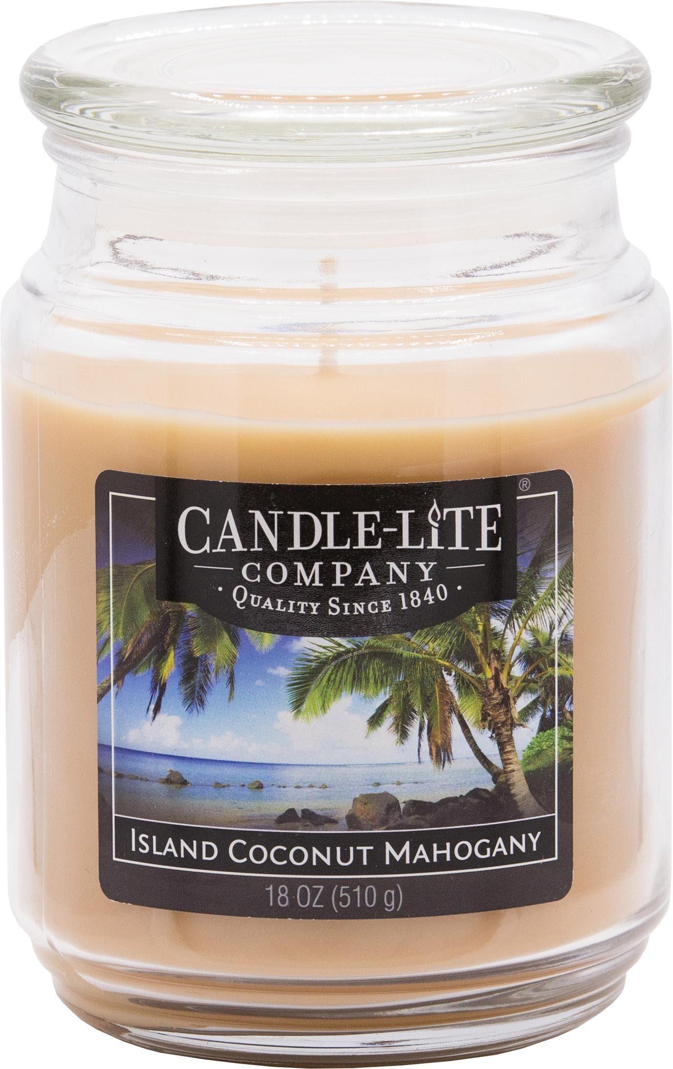 Candle-lite Duftkerze, 510g, »Everyday - Island Coconut Mahogany«
