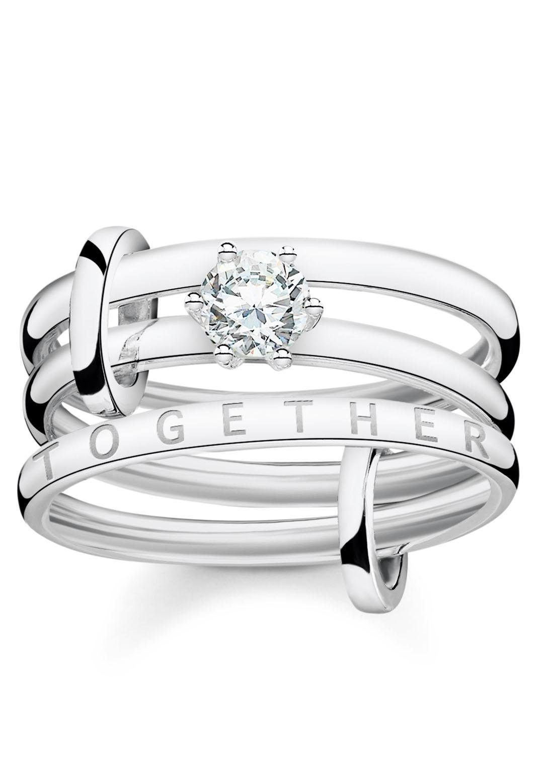 THOMAS SABO Silberring »Together Forever, TR2192-051-14« Online exklusiv bei uns*