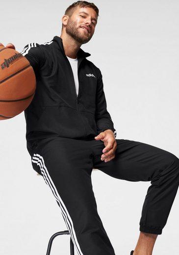 adidas Performance Sportanzug »MTS 3 STRIPES WOVEN C« (Set, 2-tlg)