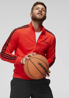 adidas Trainingsjacke »ESSENTIALS 3 STRIPES TT TRIC«