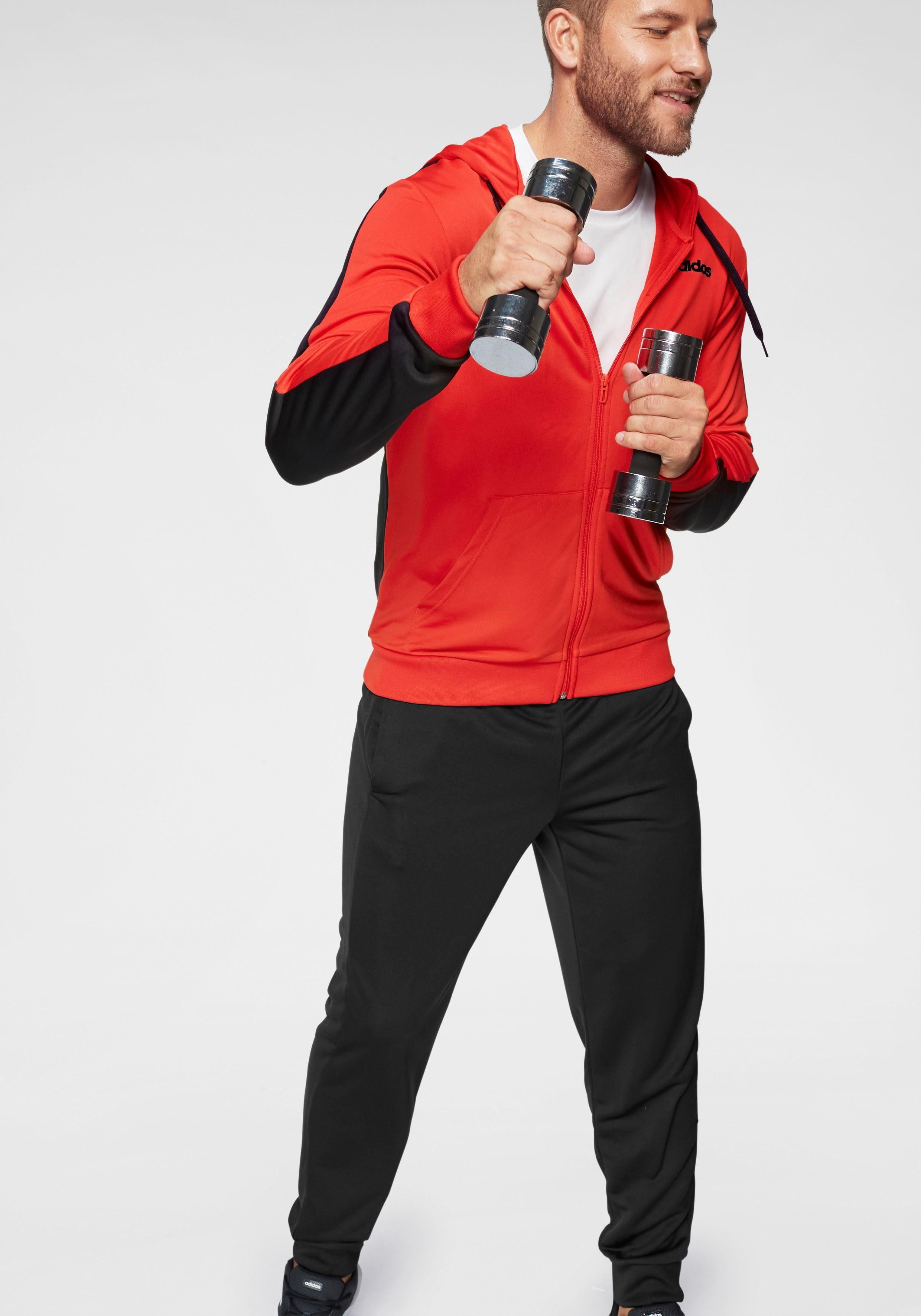 adidas Performance Trainingsanzug »COTTON RELAX TRACKSUIT« (Set, 2 tlg) online kaufen   OTTO