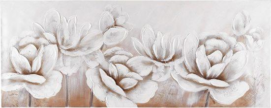Premium collection by Home affaire Gemälde »Flowers«, 150/60 cm