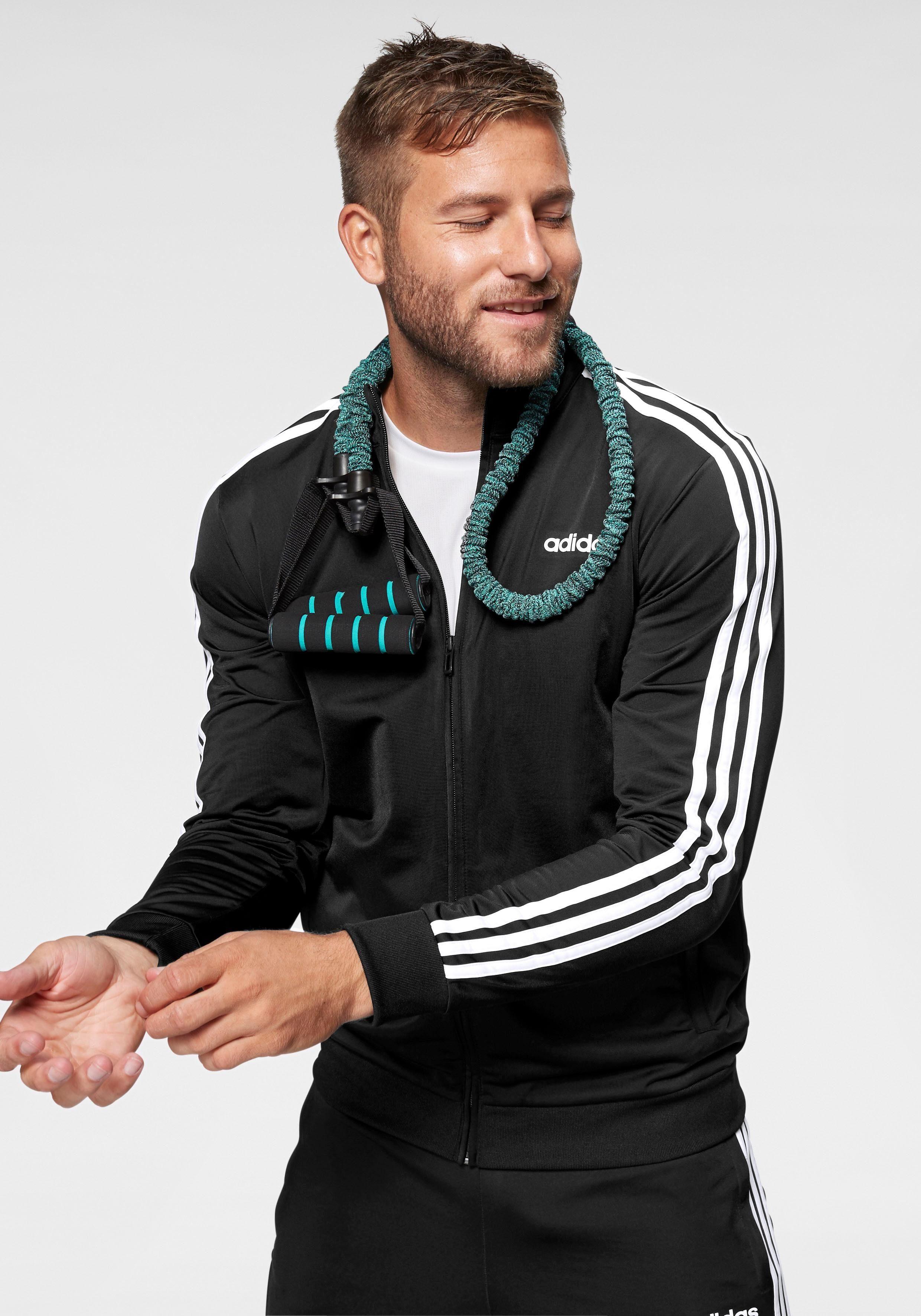 adidas Trainingsjacke »ESSENTIALS 3 STRIPES TT TRIC« online kaufen | OTTO