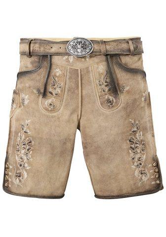 Krüger Buam брюки кожаные из наци...