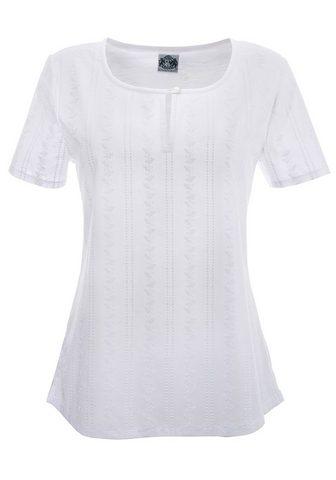 HAMMERSCHMID Marškinėliai Moterims su sagos ant išk...
