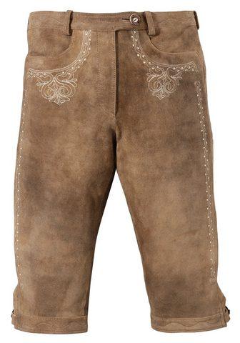 ALMSACH Брюки кожаные из национального костюма...