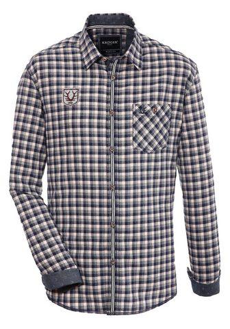 KRÜGER BUAM Krüger Buam tautinio stiliaus marškini...