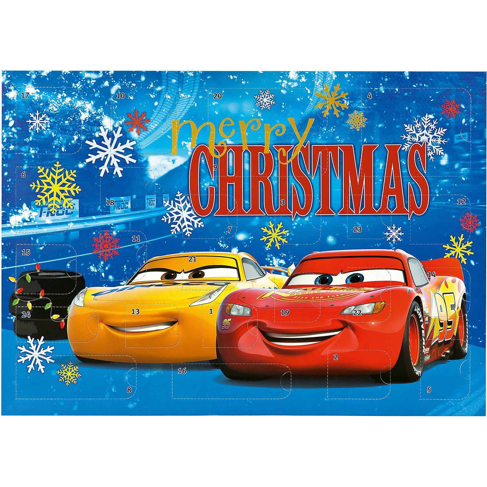 UNDERCOVER Mal- und Spaß- Adventskalender Disney Cars