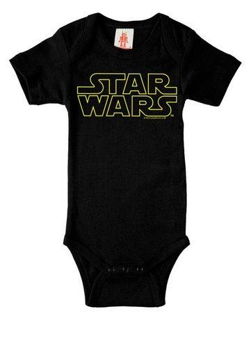 LOGOSHIRT Baby-Body mit Star Wars-Schriftzug