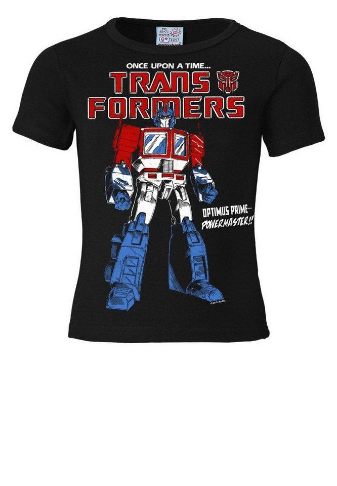 277ba91156d26 LOGOSHIRT T-Shirt mit coolem Frontdruck »Optimus Prime - Transformers«