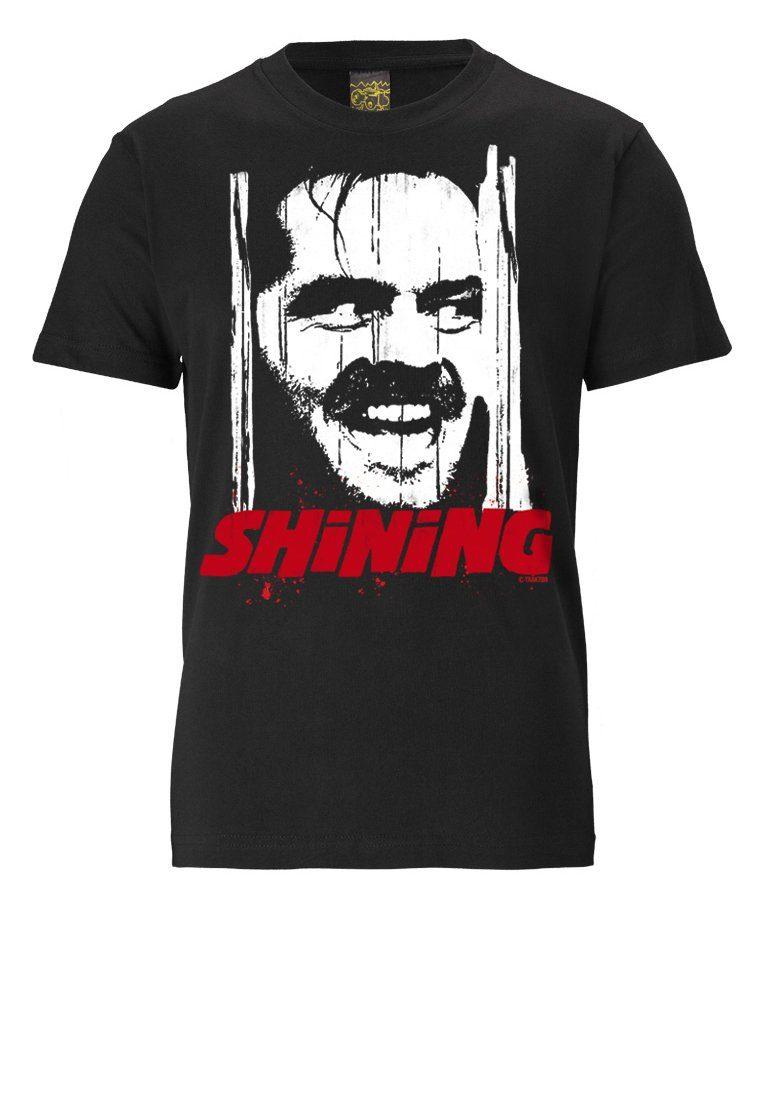 LOGOSHIRT T-Shirt mit coolem Shining-Frontprint »SHINING«