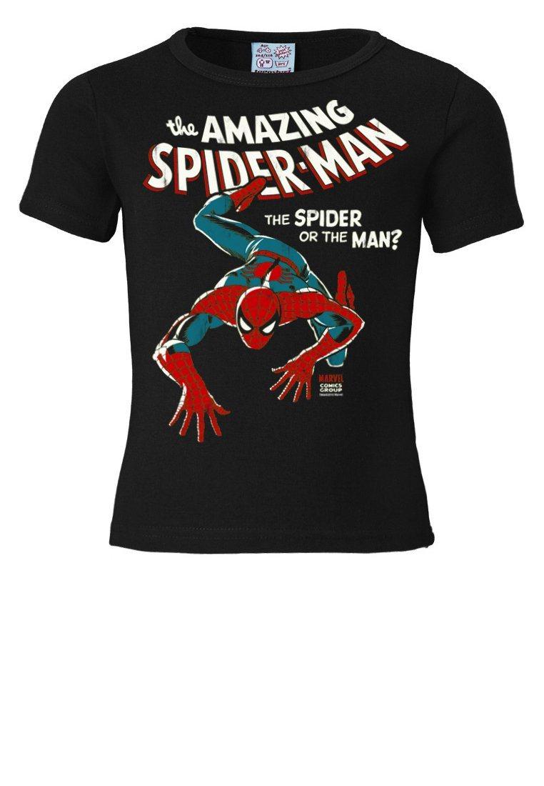LOGOSHIRT T-Shirt mit Marvel-Motiv »Marvel - The amaz. Spider Man« | Bekleidung > Shirts > T-Shirts | Schwarz | Baumwolle | LOGOSHIRT