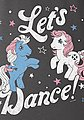 LOGOSHIRT T-Shirt mit angesagtem Frontprint »My Little Pony - Let\s Dance!«, Bild 2